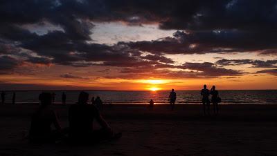 SUNSET AT THE MINDIL BEACH :)