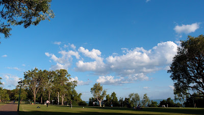 Enjoy a game of rugby or a picnic in the Esplanade park - site of WWII bombings