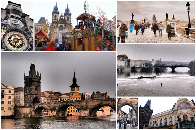 Prague Easter sightseeing - a nice place to visit even for non-dancers