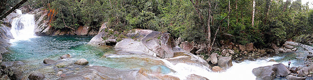 Not even half of Josephine Falls... it's massive!