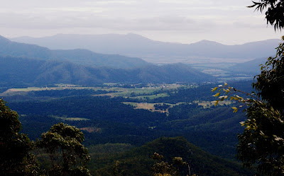 On top of the tablelands: Heales lookout