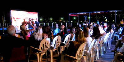 Showtime! Friday night - shows at the pool and party in the main room