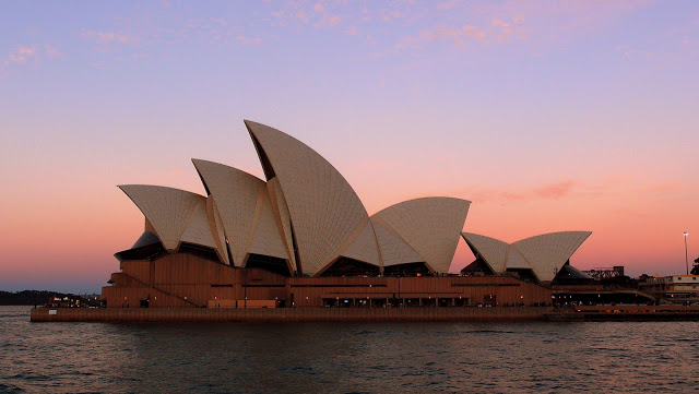My last view of the Opera House: not a bad one!