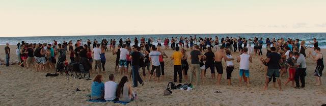 Beachata! Saturday evening, perfect way to start the night :)