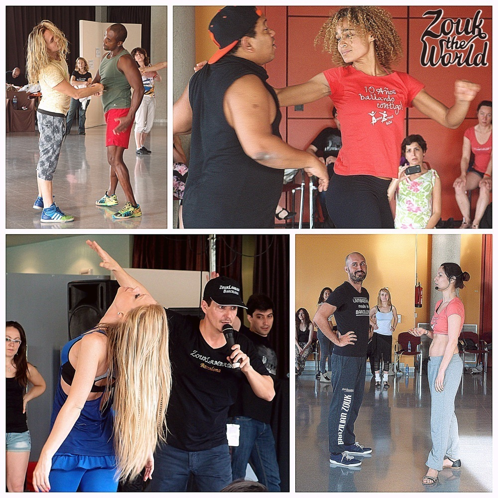 Moments from the workshops with Henry & Zulu, Adilio & Sarita, Laura & Xavi and Olaya & papagaio