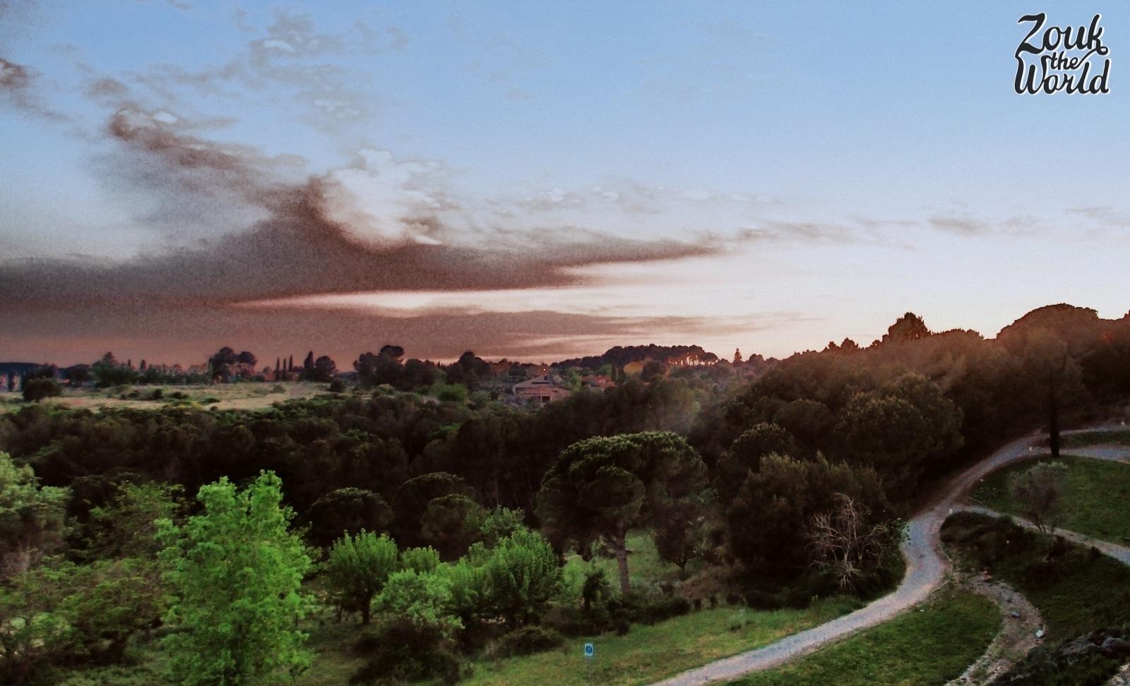 bellaterra evening view