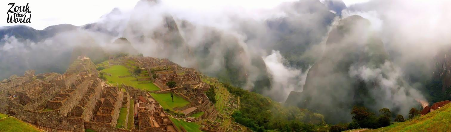 Machu Picchu - wasn't the perfect time for a visit but no reason not to go!