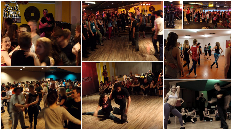 Workshops at th Prague zouk congress