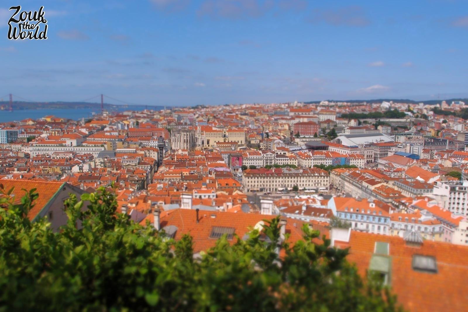 The panoramic views from Castelo de São Jorge. are hard to beat