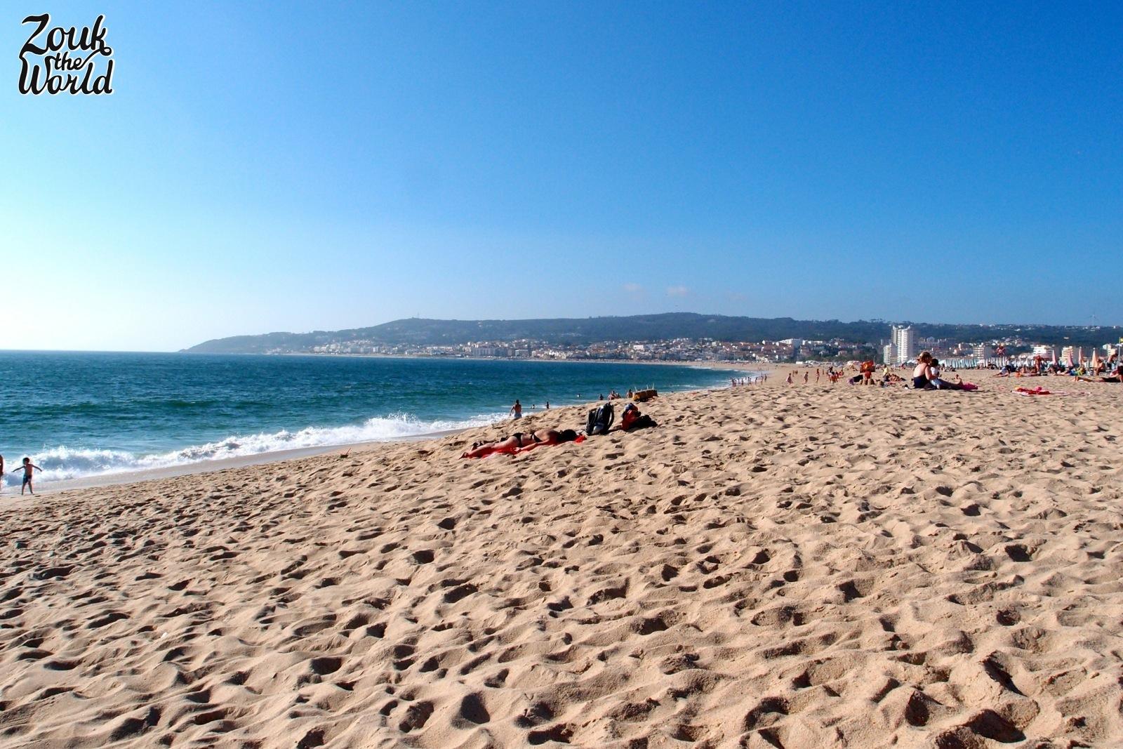 The endless beach at Figueira da Foz