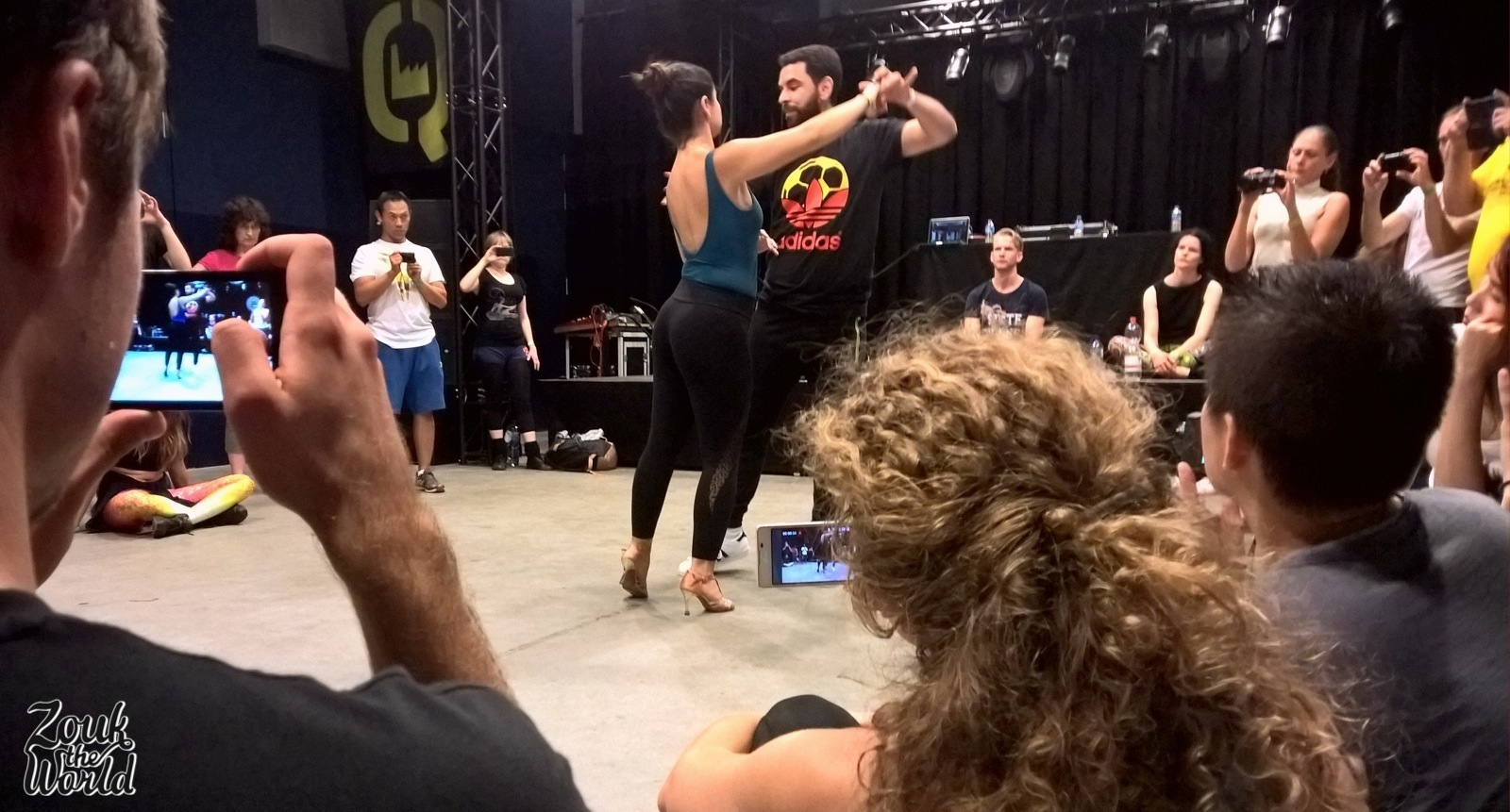 Freddy Marinho & Andressa Castelhano take the centre stage at the end of their workshop