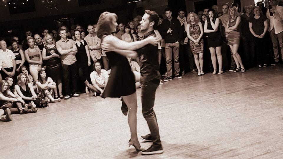 Mona and Juarez take centre stage - Photo by Mark Comiskey