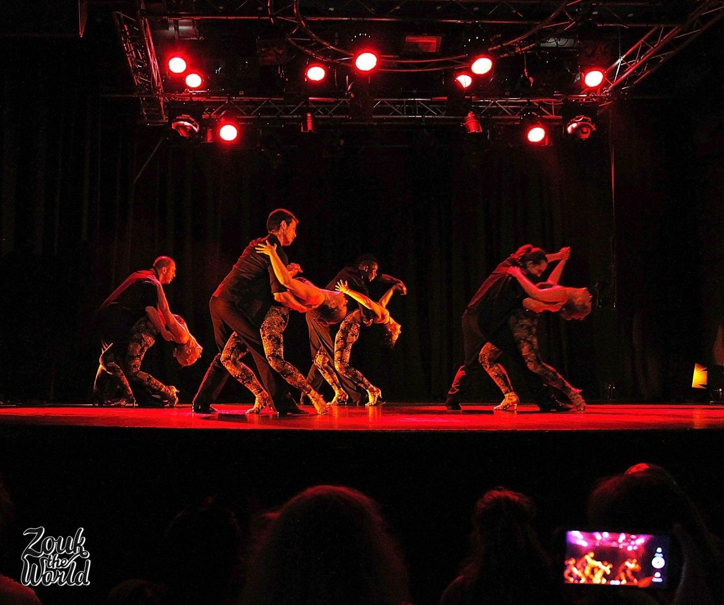 Rio Zouk Style team's performance