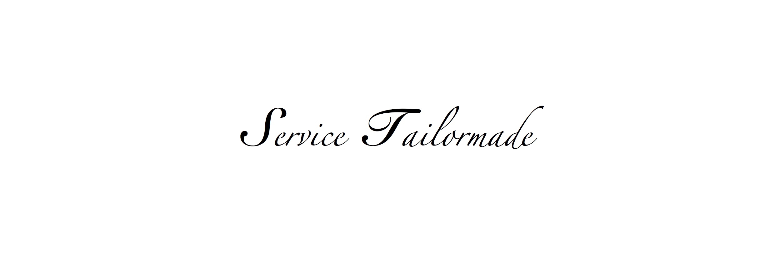 Service Tailormade de l'atelier Jawery
