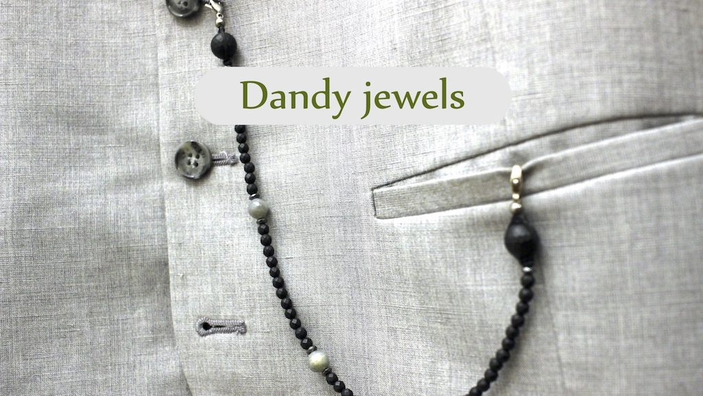 Dandy jewels from the atelier JAWERY