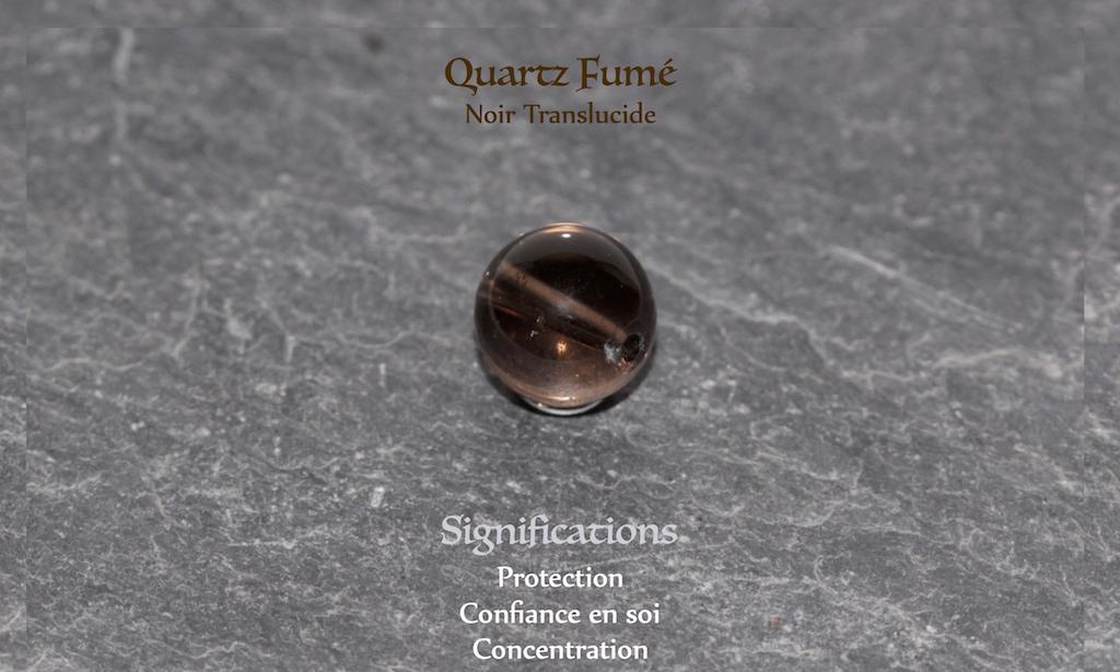 Healing powers of smoked quartz from JAWERY
