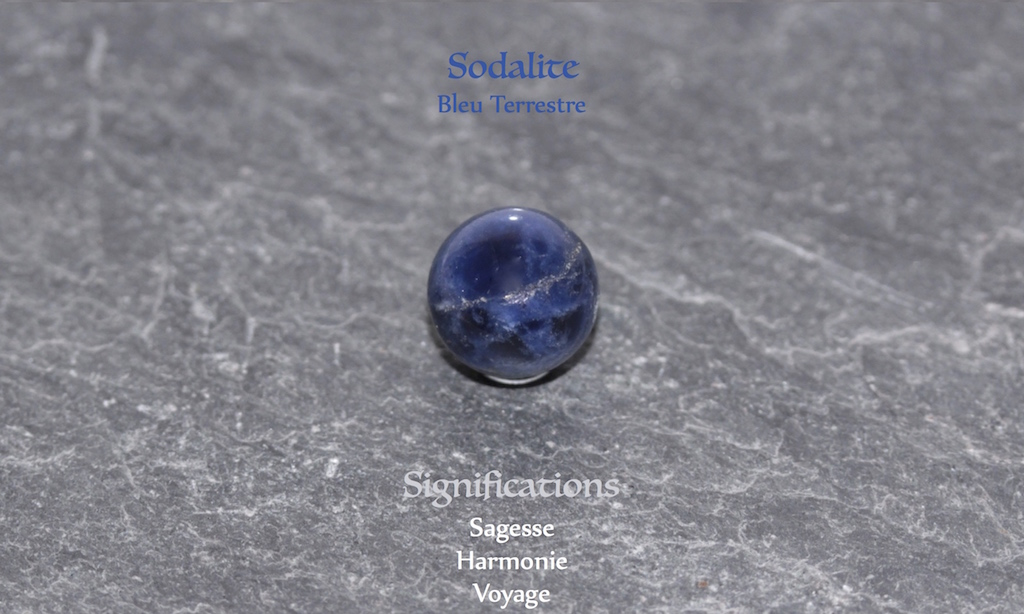 Healing powers of sodalite from JAWERY