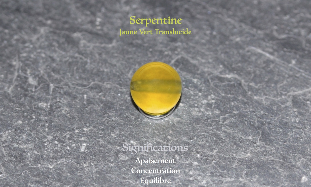 Healing powers of serpentine from JAWERY