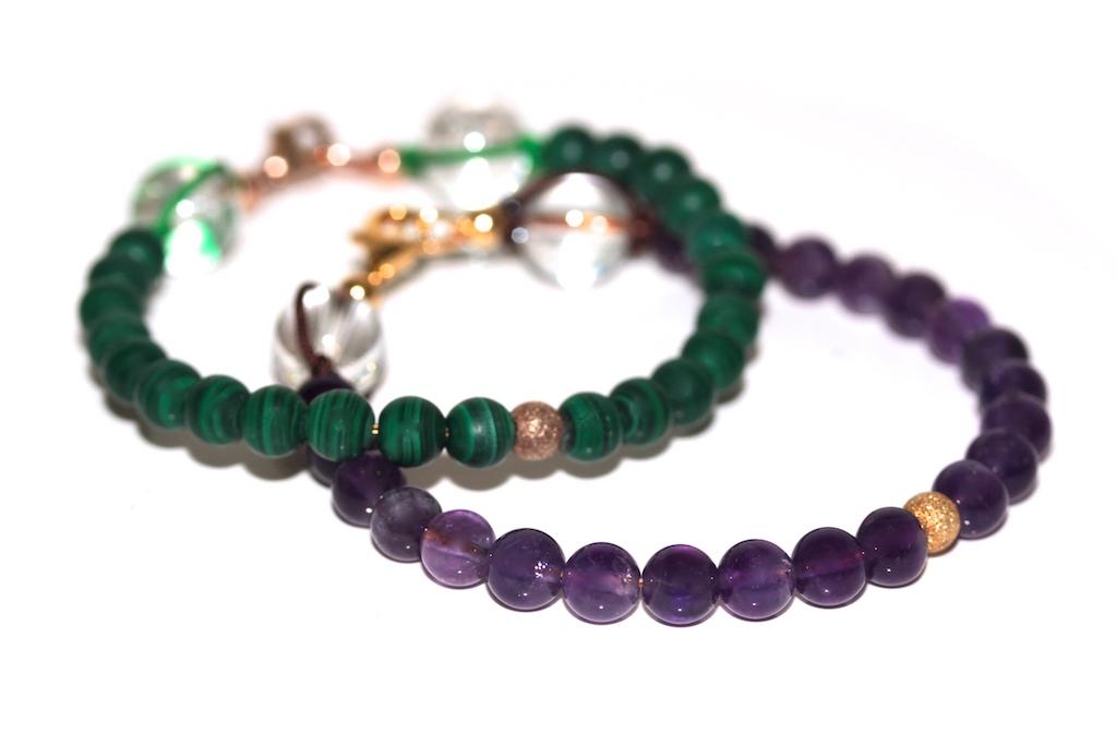 Precious bracelets from Atelier JAWERY