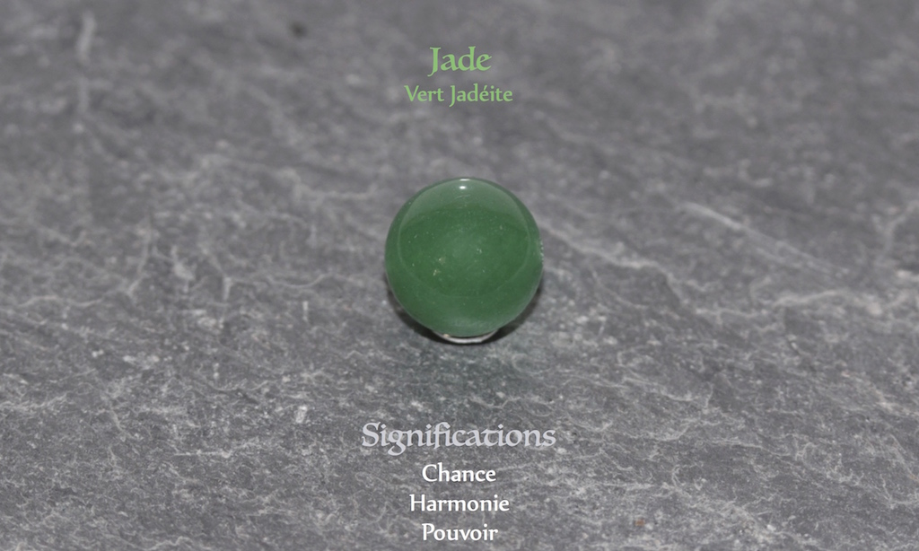 Healing powers of Jade from Atelier JAWERY