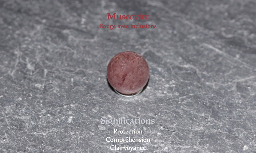 Healing powers of Muscovite from Atelier JAWERY
