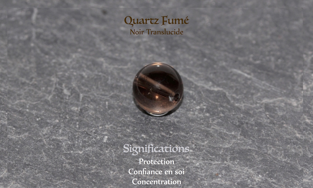 Healing powers of Smoked Quartz from Atelier JAWERY