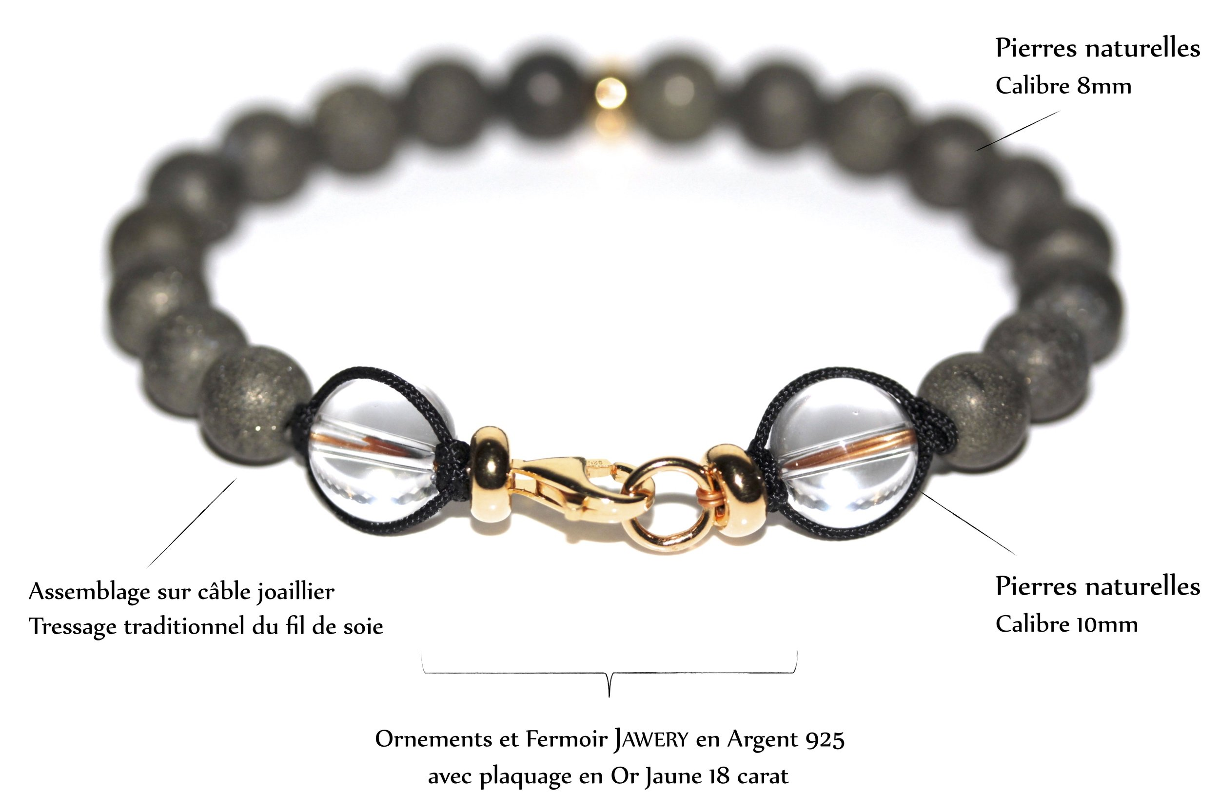 Assemblage exclusif de l'atelier JAWERY