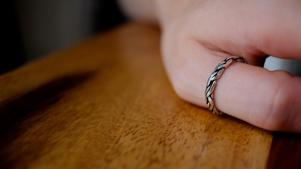 Bague mixte - Argent 925 - Atelier JAWERY