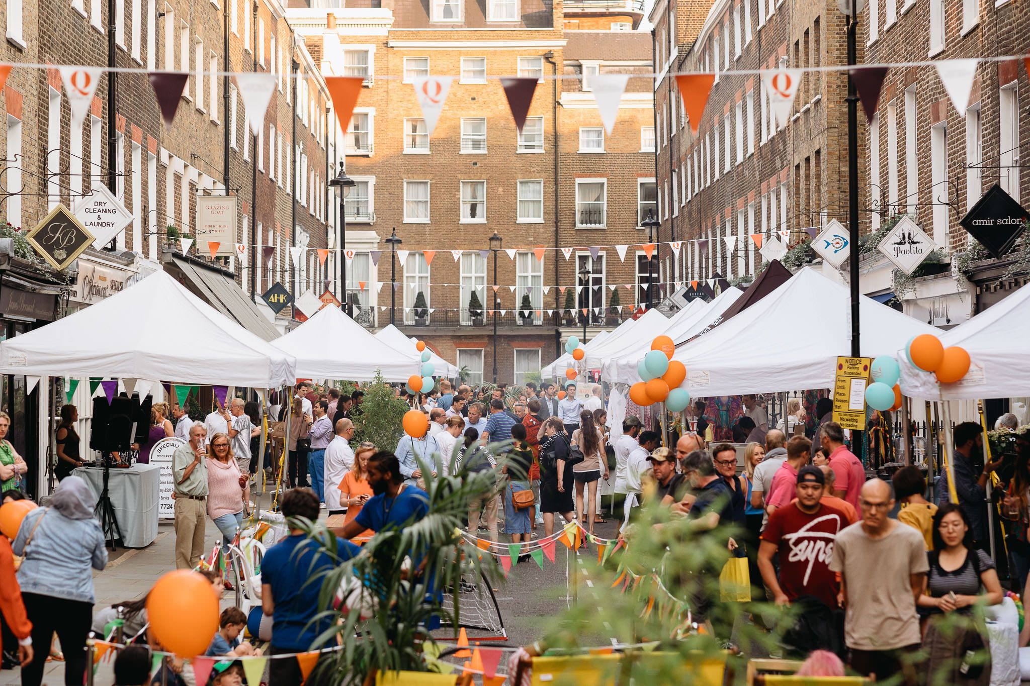 Marylebone Summer Street Party 2019.