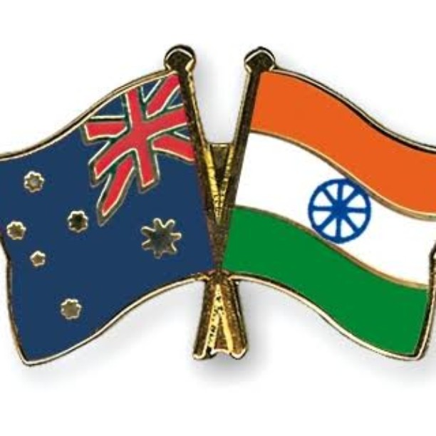 Thank you to the country who has been a wonderful home for me and which has allowed me to raise two fine children.#AustraliaDay #Home #Flag #Australia #India #Fusion #Perfect