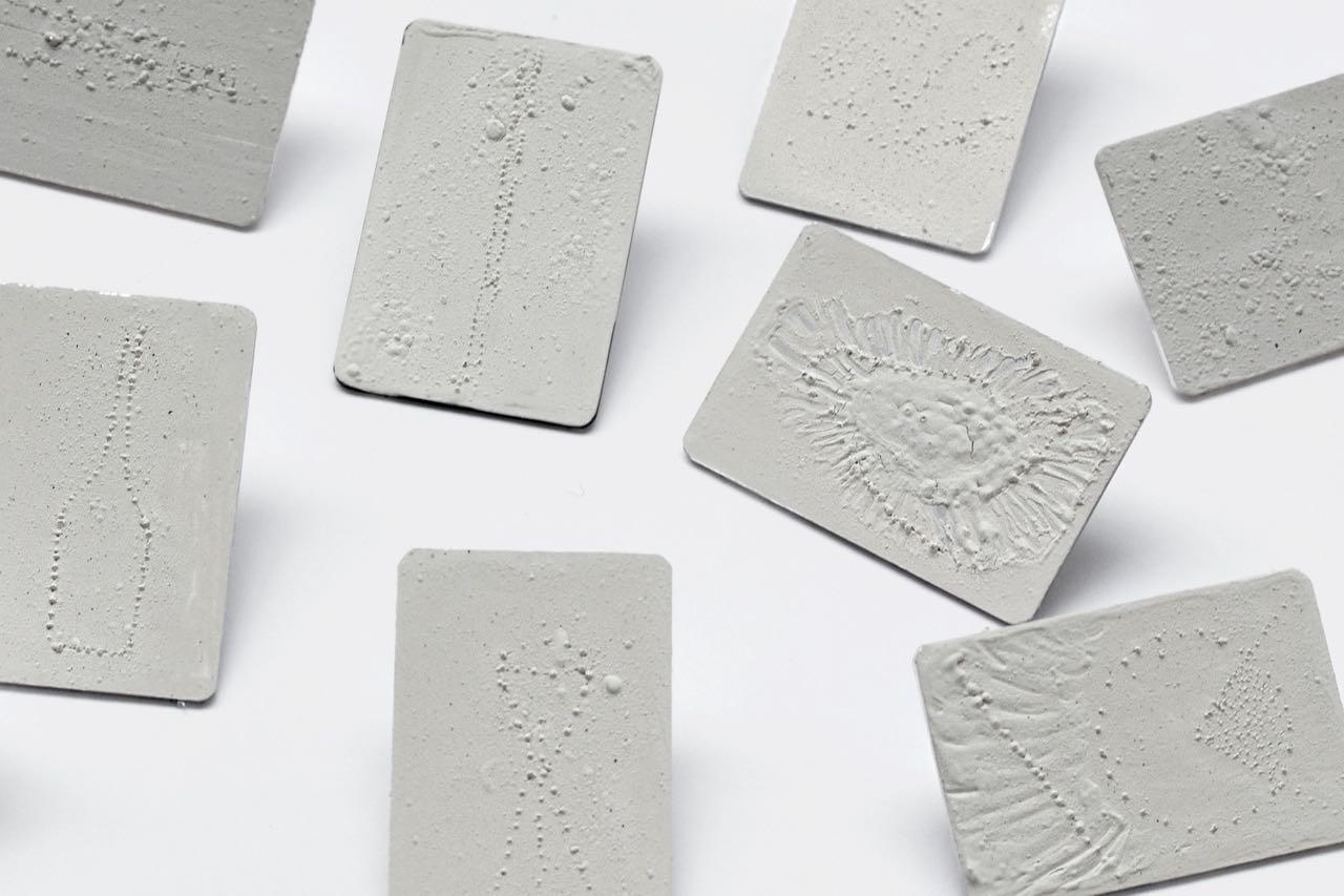 Silver, fine silver, 4 x 2,25 x 0,09cm, 2015
