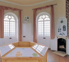 Inside the Broadway Tower