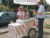 Icycle Tricycle -Broadway  High Street Outside  Barrington's (fine weather) Tel: 01386 853543