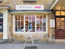 All of My Heart Cotswold House Broadway WR12 7AA Tel: 01386 859045  Heart themed gifts