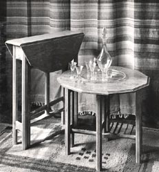 Miniature gateleg table ~Russell, Gordon 1925
