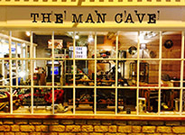 The Man Cave 3, Cotswold Court  Broadway Tel: 01386 244646