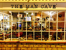 The Man Cave 3 Cotswold Court WR12 7AA Tel: 01386 244646 Gifts & retro-collectables