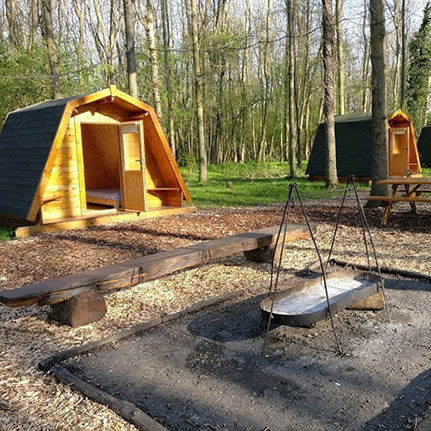 Cotswold Woodland Glamping 8 glamping pods Aston Somerville near Broadway  Book exclusive to your party Beautiful woodland & natural retreat Great for holidays, birthday, parties & weddings  More details….