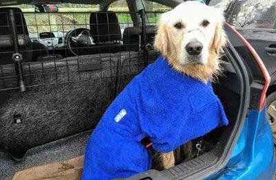 Soggy Mutt Robes & Dog Treats Tel: 07779 855996  soggymutt.co.uk