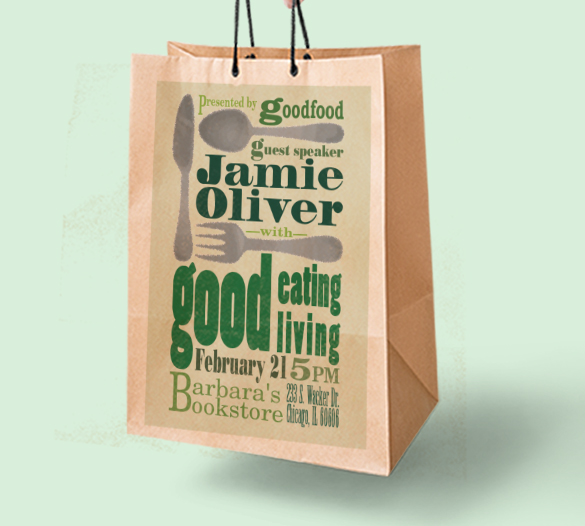 Goodfood book signing Ad
