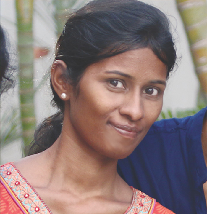 """Swapna - """"I was rescued from extreme poverty after my parents died. Because of the core values of Passion for the Harvest and Family Priority, I was adopted into the Alpha Home and my life was forever transformed."""""""