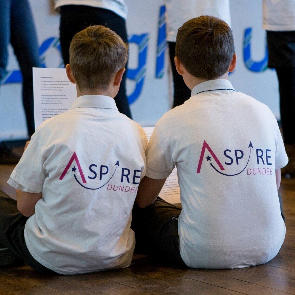Image: ASPIRE Drama rehearsals