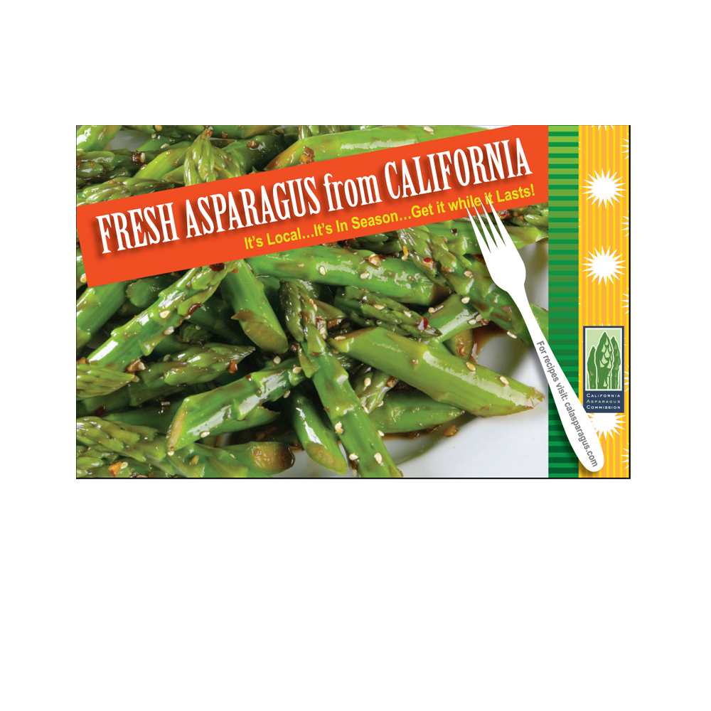 California Asparagus Commission Ad
