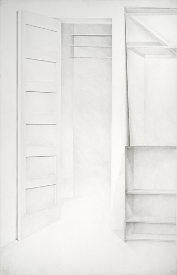 "Doorways and Mirrors<br>40""x26"""
