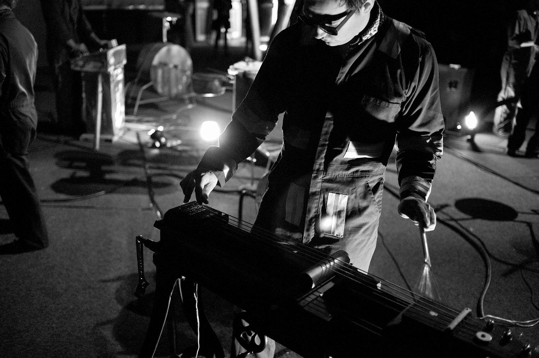 Alex Turnquist on the Lathe Bass.