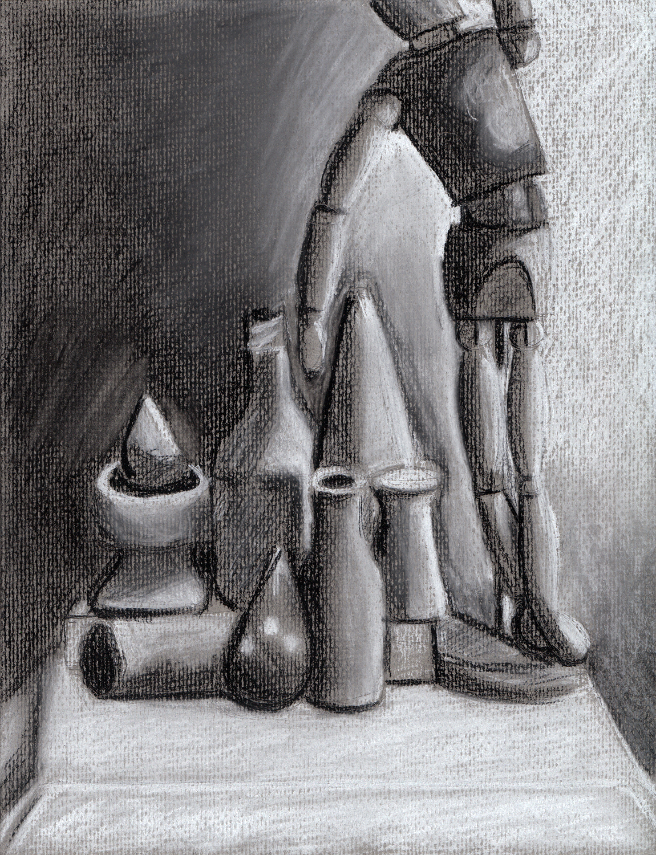 Chalk Still Life (2010)