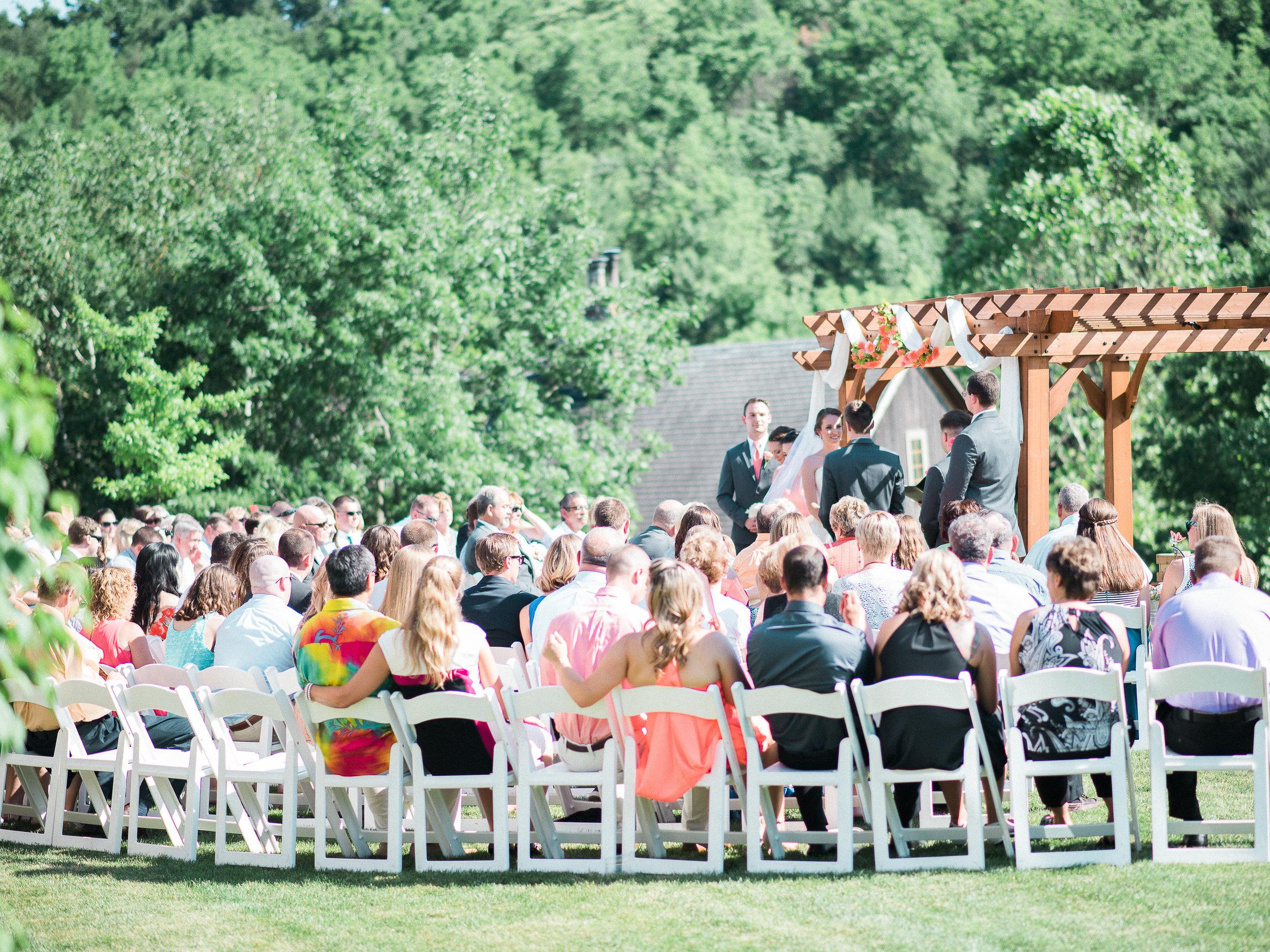wedding at glasbern inn