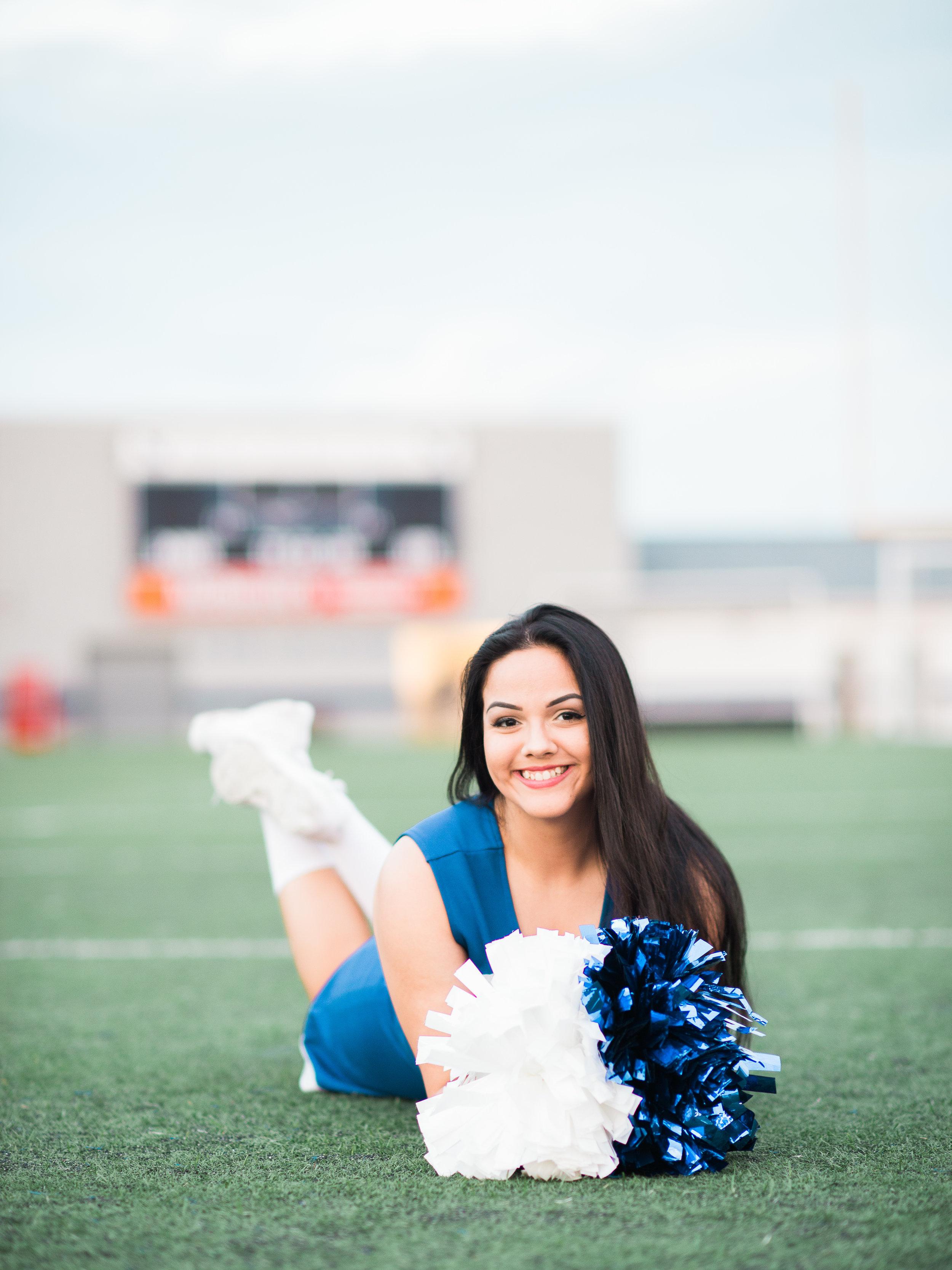 Nazareth High School Cheerleader