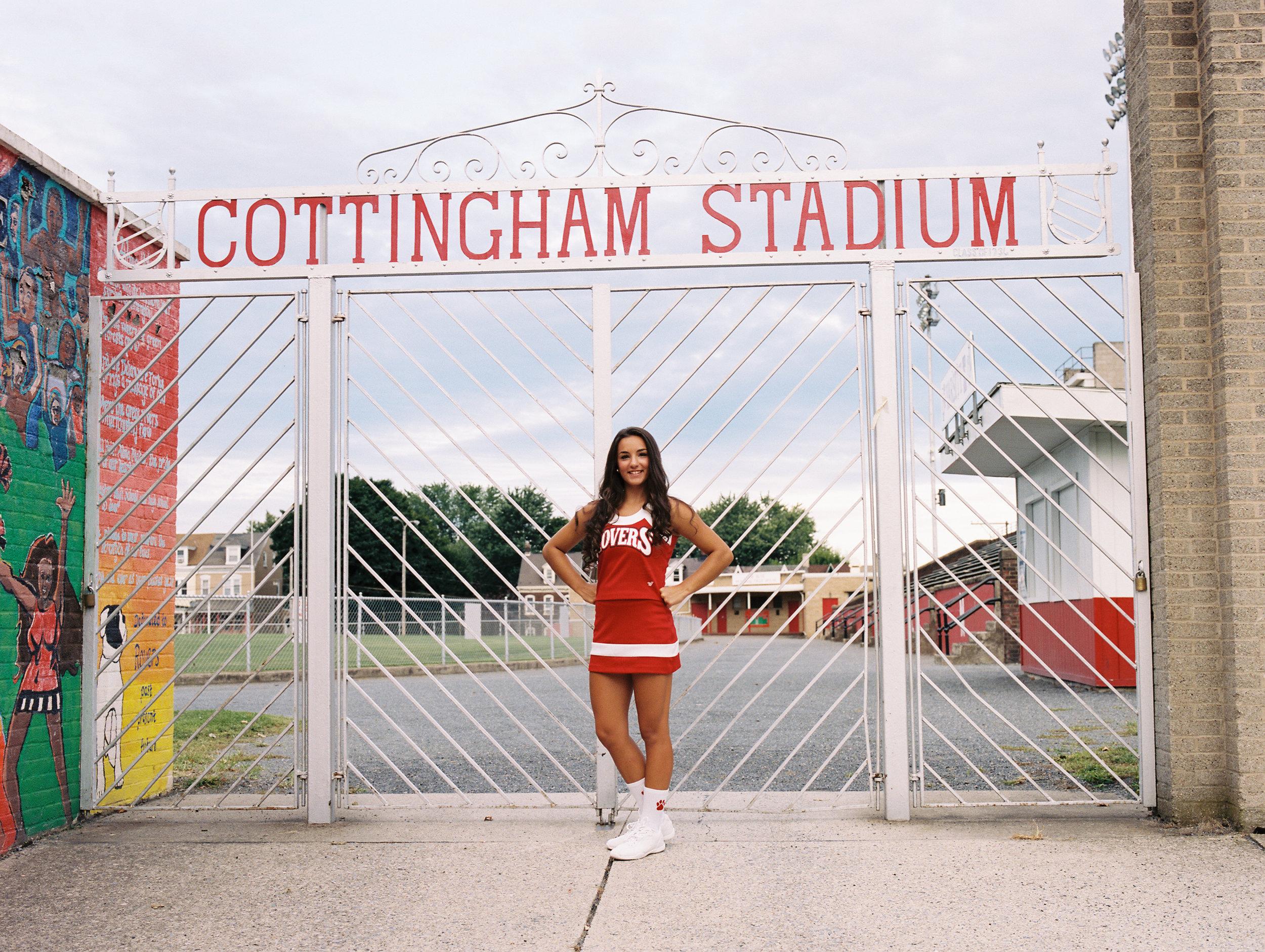 Senior pictures at cottingham stadium