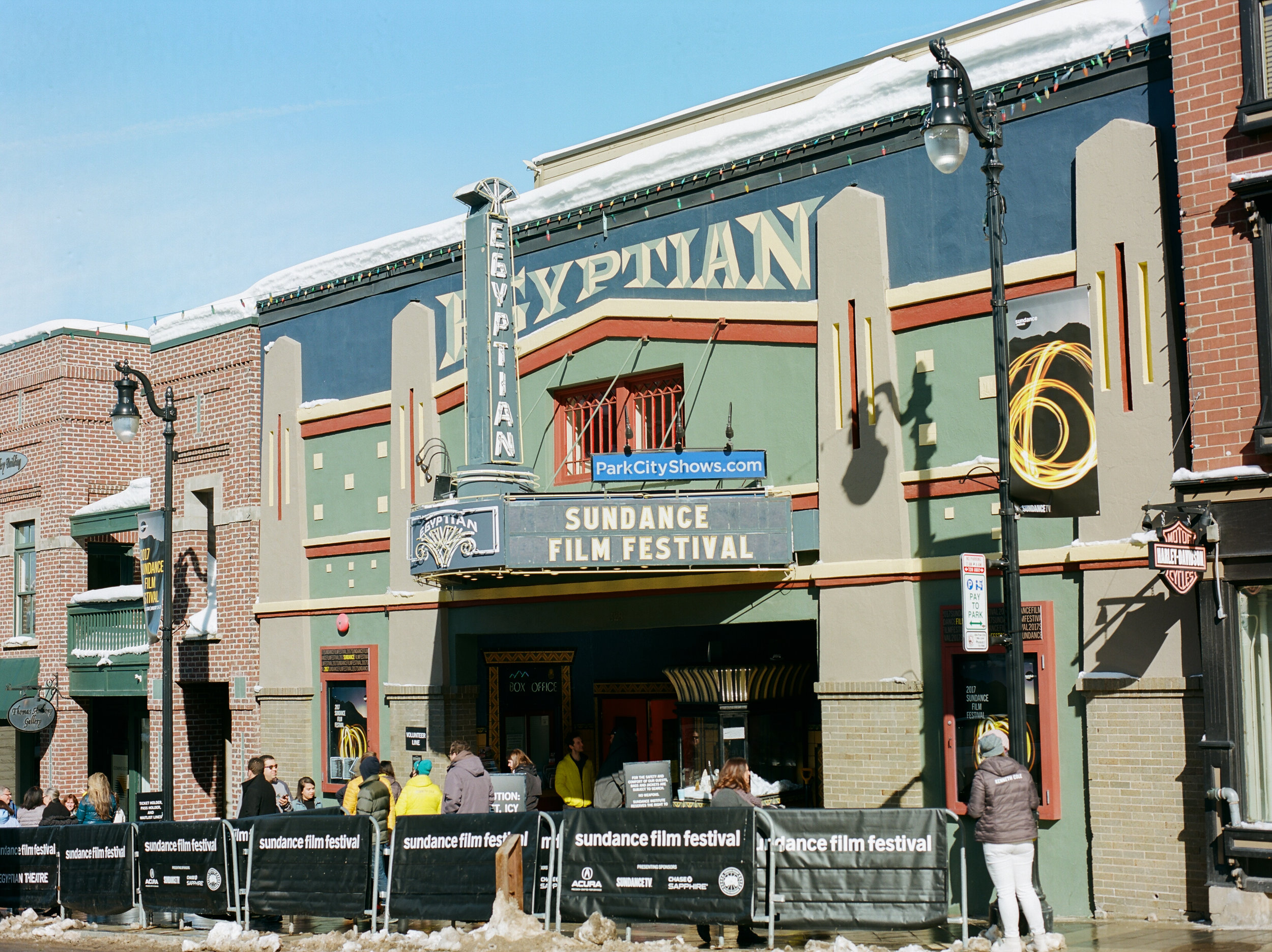egyptian theater at the sundance film festival